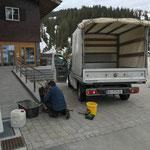 Div. Ausbesserungsarbeiten an Gemeindegebäuden, Haus des Kindes...