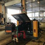 Lader 509 Fräsmotor vorbereiten für Reparatur Zylinderkopfdichtung
