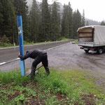 Ortsbus-Haltestellen setzen Lech - Hochkrumbach
