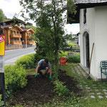 Gärtnerarbeiten Kapelle Strass