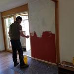 Drittleistung für LZTG: Wohnung ausmalen und ausräumen in Stubenbach