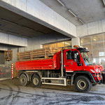 Gemeinde-Schnittholz abholen Sägerei Dalaas und Winterreifen holen für U530