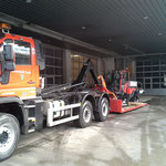 Holder C70 SC-W Transport mit Unimog 530 nach Oberlech