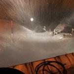 Schneeräumung mit Unitrac 102S