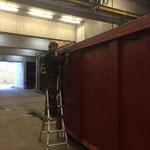 Adaptierungsarbeiten Container für U530