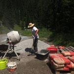 Neue Bilder von der Renovierung Zuger Säge