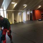 Aufräumarbeiten - Arlberg Weinberg - Sportpark