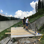 Brückenreparatur Fuxloch
