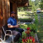 Forstpflegearbeiten im Pflanzgarten