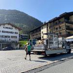 Mithilfe Aufbau Arlberg Classic Car Rally