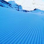 Winterwanderweg Kriegeralpe präparieren, mit PB Paana