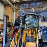 Fahrzeugpflege in der Werkstatt, Lader 509