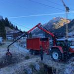 Forstdienstleistungen für Skischule Lech, Kindersammelplatz