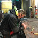 Arbeiten für Montage Feuerwehrsirene Oberlech