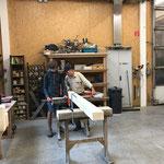 Tischbau für Wanderwege
