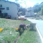 Ortsverschönerung und Tagwasserinstandsetzungen in Stubenbach