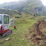 Karbühelwegsanierung und Errichtung der Brunnenplätze