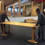 Aufbau Arlberg Weinberg