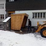 Radhütte stellen Haus des Kindes