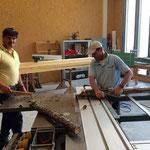Spezial-Hilfeleistung für Museum Huber Haus