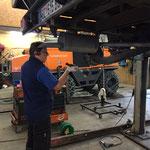 Handbremsen-Reparatur an der VW-Pritsche