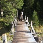 Abbau vordere Butzenbrücke: