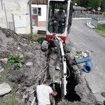 Wasserrohrbruch Oberstubenbach