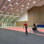 Umbau sport.park.lech für Veranstaltungen LZTG