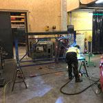 Reparatur Pistenrettungsakia-Aufsatz für Pistengeräte-Schild