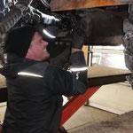 Getriebe einbauen Rolba 600