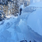 Winterwanderweg Tannberg, Rudtobel. Mit Snow Rabbit 3