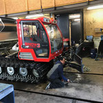 Snow Rabbit 3, Fahrzeugpflege und Abschmieren
