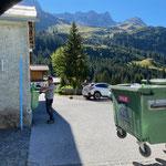 Mülldienst in Zug