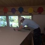 Umbauarbeiten Haus des Kindes, Dachboden