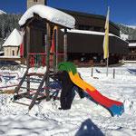 Abbau Spielplatz Schule