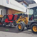 Holder-Transport zum Bauhof nach Ölverlust