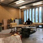 Arbeiten für Brückengeländer Wanderweg Zürs-Lech