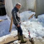 Sprenkler installieren Schneeräumung GZL