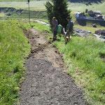 Wegebau Oberlech