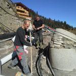 Wasseranschlussarbeiten Tannberg 2015