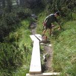 Sanierung Wanderweg Hintereggenweg