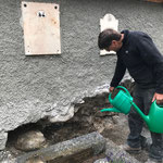 Sanierung Friedhofsmauer