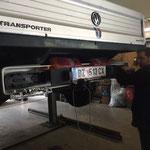 Fehlersuche VW-Pritsche lang, Anhänger-Elektro-Anschluss