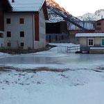 Fortschritte am Eisplatz Zürs