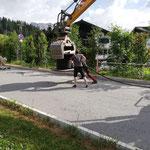 Stromkabel aufrollen Arlberg Classic Car Rally