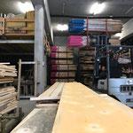 Für Museum Huber Hus: Winterwanderwegstangen zur Auslieferung vorbereiten