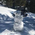 Wegepräparierung Burgwaldweg, mit Snow Rabbit 3
