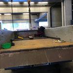 Aufbau Hängerfräse für Steyr Traktor 6190 CVT