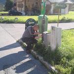 Fehlersuche Straßenbeleuchtung Omesberg