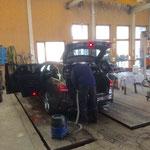 PKW-Reinigung Gemeindedienstfahrzeug